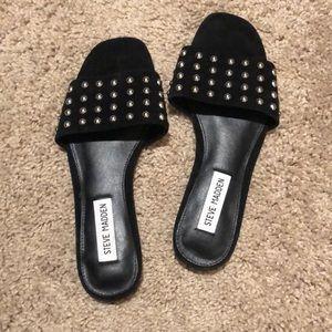 Steve Madden studded slide sandals